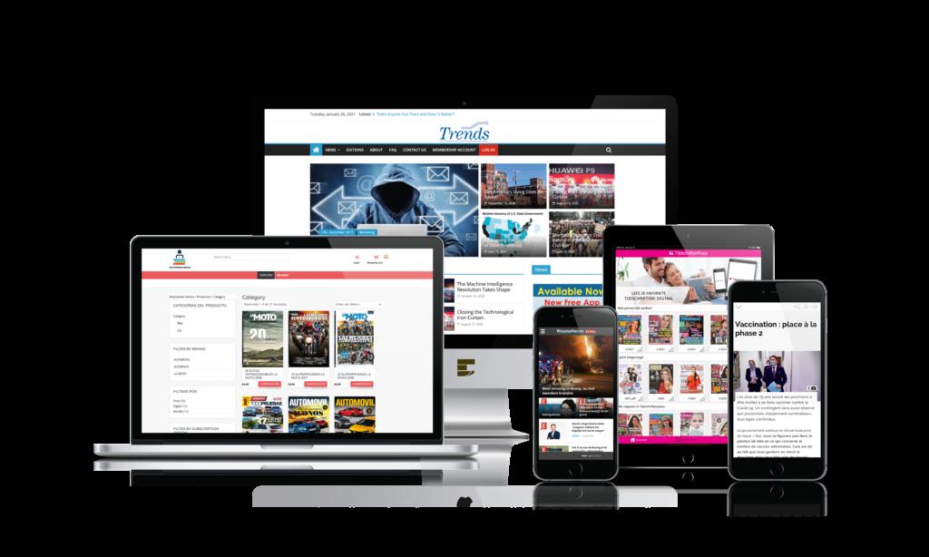 Digital publishing publishers