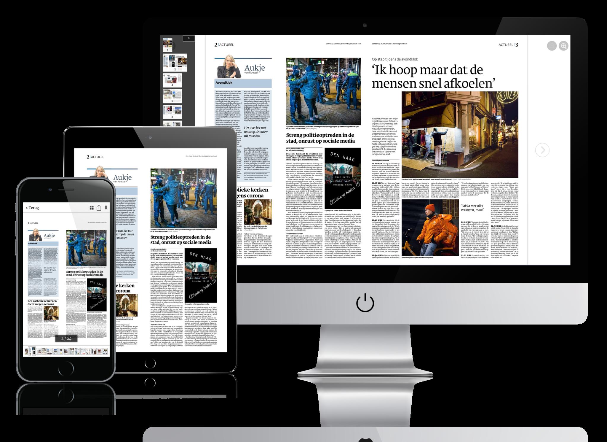 Digitale kranten uitgevers digitaal uitgeven krant