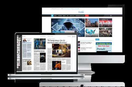 Kranten website uitgevers krant uitgeven webshop