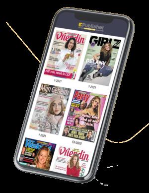 tijdschriften digitaal publiceren uitgevers
