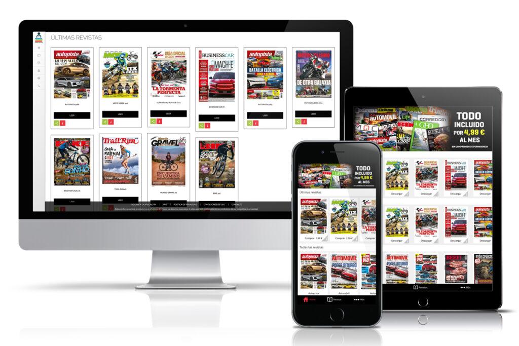 Motorpress app website